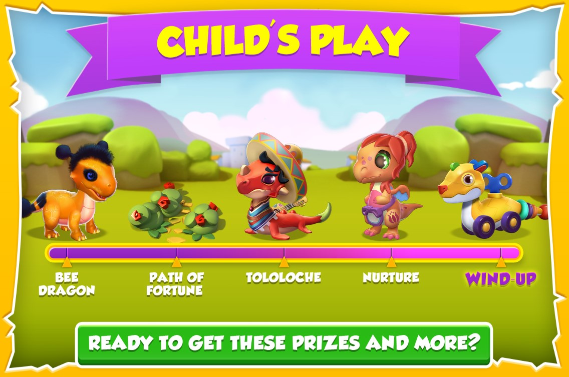 child s play for wind up dragon dragon mania legends