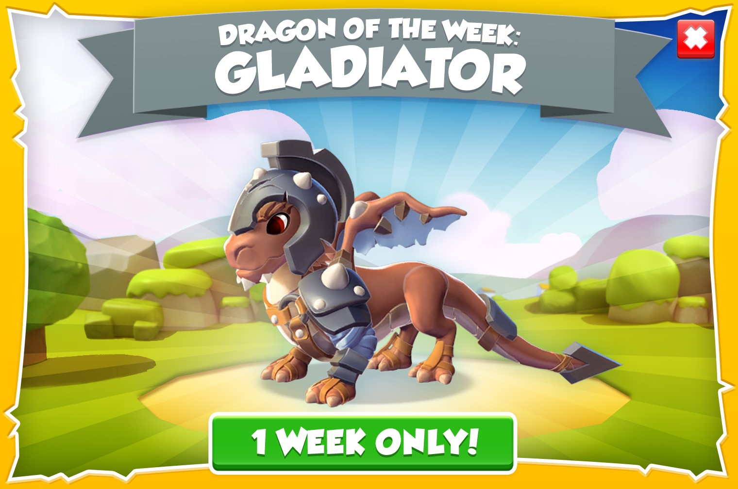 dragon-of-the-week-gladiator-june-22