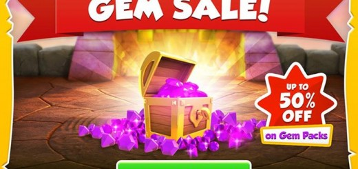 Get 50% off Gem packs for a limited time