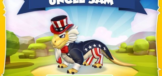 Get Uncle Sam dragon this weekend!