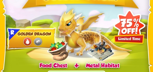 Golden Pack: Golden Dragon, Food, and Habitat