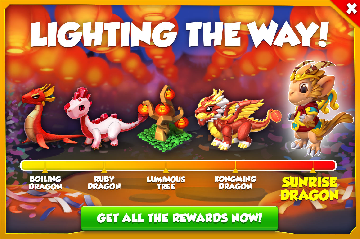 new Solo Event is here! Lighting the Way is a Chinese New Year's