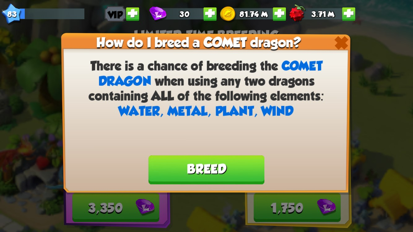 how-to-breed-comet
