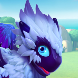 Fluffy Dragon