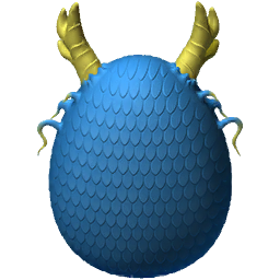 Blueflame Dragon Egg