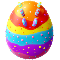 Candy Dragon Egg