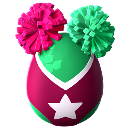 Cheerleader Dragon Egg