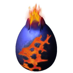 Firestorm Dragon Egg