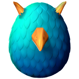 Golden Crow Dragon Egg
