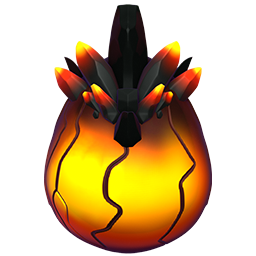 Hellhound Dragon Egg