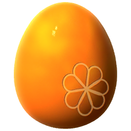 Orange Dragon Egg
