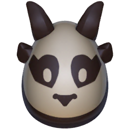 Panda Dragon Egg