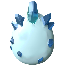 Polar Bear Dragon Egg