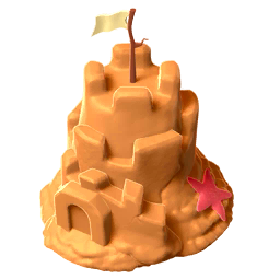 Sandcastle Dragon Egg