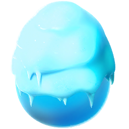 Snow Dragon Egg