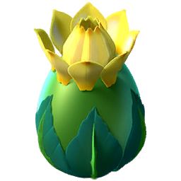 Sunflower Dragon Egg