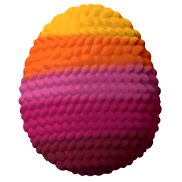 Yarn Dragon Egg